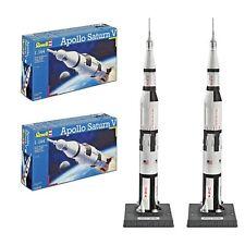 Apollo 11 Saturn V Space Rocket Model 1:144 Nasa 1969 Moon Landing Rocket 2 Pack