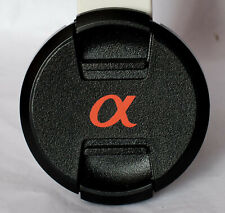 Genuine Sony centre pinch 55mm front lens cap.