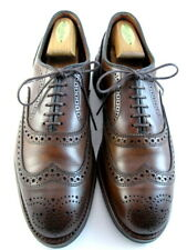 "Allen Edmonds  ""MCALLISTER"" Wingtip Oxfords 8.5 D Dark Chili Dainite  USA (573)"