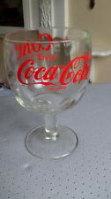 Verre publicitaire Coca cola