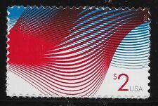 US Scott #4954, Single 2015 Patriotic Wave VF MNH