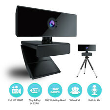 USB Webcam 1080P Full HD Web Camera Video Recording Camcorder Mic For PC Laptop