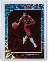 2019-20 Panini NBA Hoops Kevin Porter Jr Teal Explosion Rookie RC
