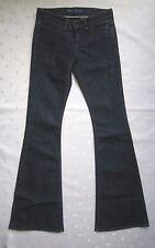 kate moss for TOPSHOP MOTO Low Rise Flare Leg Dark Wash Denim Jeans Sz W25 / L34