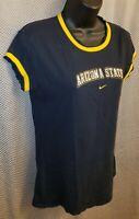 Arizona State Sun Devils Black Nike Embroidered T-Shirt - Womens Medium (8-10)