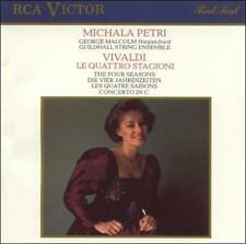 Vivaldi: 4 Seasons (CD, Nov-1987, RCA) NEW