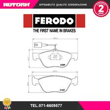 FDB1052 Kit pastiglie freno a disco ant.Alfa Romeo-Fiat-Lancia (MARCA-FERODO)