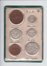 1952 Pre Decimal Coin Year Set in BP Oil Wallet Birthday Baby Birth Year  F-606