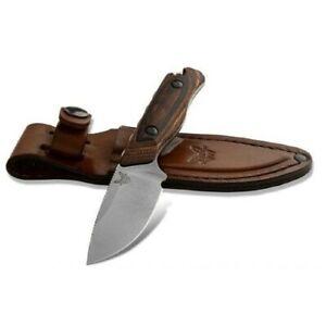 Benchmade Hidden Canyon Hunter Leather Sheath Fixed Blade Knife - 15017