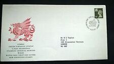 Grossbritannien UK 1987 FDC Satz Regionalmarken Machin Wales