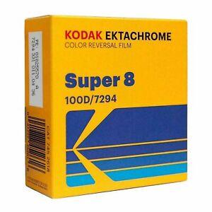 Kodak Ektachrome Super8 8mm Color Reversal Film 100D 7294 Official Reseller
