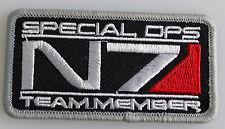 Mass Effect - N7 Special Ops - Team Member - Patch Aufnäher - zum Aufbügeln neu