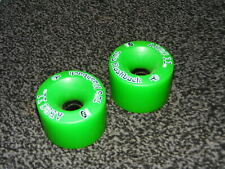 Slalom Skateboard Longboard Wheels ABEC 11 70mm 75a 70's Flashback PAIR