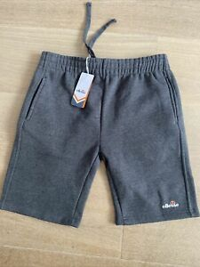 Ellesse Shorts Mens Medium Uk Medium Bnwt Never Used Tags Included Grey Fleece