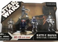 STAR WARS Battle Packs ARC-170 ELITE SQUAD With 2 ARC-170 TROOPERS + 3 FIGURES