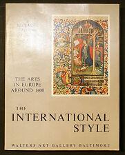 INTERNATIONAL STYLE: ARTS IN EUROPE AROUND 1400- ILLUMINATED MANUSCRIPT REF etc