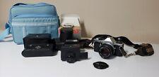 Pentax 35 mm Camera ME Super w/ Flash & accessories