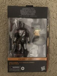 Star Wars Black Series Din Djarin The Mandalorian And The Child Target Exclusive