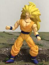 "Bandai DBZ Dragon Ball Z Hybrid Action Super Saiyan 3 Goku 4"" Action Figure 2388"