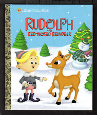 Little Golden Book-RUDOLPH THE RED-NOSED REINDEER (2006 1st Random House Ed) NEW