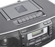Panasonic CD/Radio/Cassette High Power Boombox w/USB / Remote 110/220V DUAL VOLT