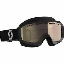 Scott Hustle X Black/Gray w/Light Sensitive Bronze Lens Snowcross Goggles