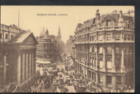 London Postcard - View of The Mansion House, Walbrook   RS4198
