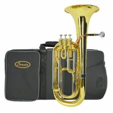 Sonata Student BB Baritone Horn With Case and Mouthepice