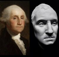 George Washington Life Mask Cast.First President of The United States 🇺🇸 Rare!