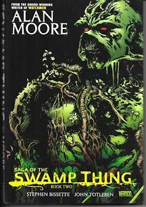 SAGA OF THE SWAMP THING BOOK TWO 1ST PRINT HC NM ALAN MOORE DC COMICS
