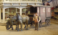 BAR MILLS BUILDINGS 752 HO MILK ICE WAGONS 2 PACK Model Railroad Kit FREE SHIP