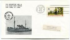 1973 USS Opportune ARS-41 New York Manned Space Craft Recovery Cape Canaveral