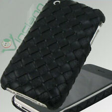 Custodia back cover Intreccio eco pelle iPhone 3GS 3G