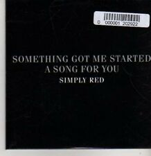 (BR47) Simply Red, Something Got Me Started - DJ CD