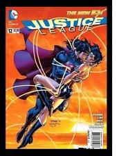 JUSTICE LEAGUE #12 SUPERMAN & WONDER WOMAN  COVER!  COMIC KINGS