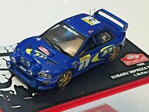 1/43 IXO ALTAYA SUBARU IMPREZA WRC RALLYE MONTE CARLO RALLY 1998 COLIN McRAE