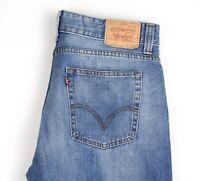 LEVI'S Strauss & Co Herren 512 Gerades Bein Jeans Größe W38 L32 AMZ963