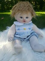 Sweet Baby Doll, Cloth Doll, Sculpted, Cloth Doll