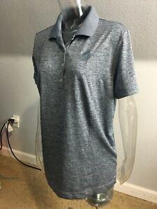 ADIDAS Women's GOLF Polo Shirt  GRAY  Size  2XL