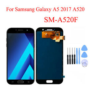 SM-A520 For Samsung Galaxy A5 2017 Display LCD Touch Screen Digitizer Black