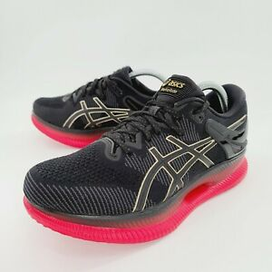ASICS Women's MetaRide 1012A130 Black Classic Red Running Shoe Size 12 NEW $250