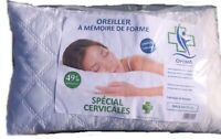 Oreiller a mémoire de forme pharmaceutique optima 50x70cm