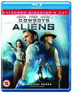 Cowboys and Aliens [Blu-ray] [Region Free] [DVD][Region 2]