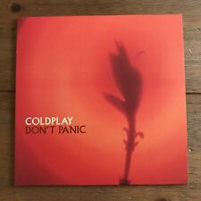 "coldplay - Don't Panic  7"" vinyl"