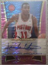 2013-14 Select Franchise Signatures Isiah Thomas /30
