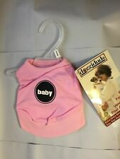 """VOTOYS DOGGIDUDS BABY SHIRT PINK XXS 4-6"""" PETITE PUP. FREE SHIPPING TO THE USA"""