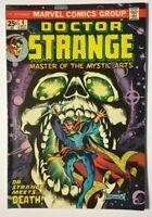 Marvel Doctor Strange #4 (Oct 1974) Dr. Strange Meets Death! GD/VG