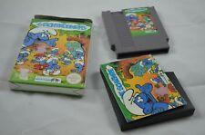 Die Schlümpfe NES Spiel CIB (gut) #2 #2074