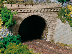Auhagen kit 11343 NEW HO 2 DOUBLE TRACK TUNNEL PORTALS