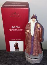 2020 Wizarding World of Harry Potter Albus Dumbledore Hallmark Ornament New